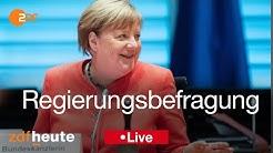 Live: Regierungsbefragung Merkel