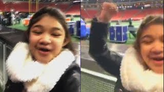 Angelica Hale Excited to Sing at Atlanta Falcons & Dallas Cowboys Football Game