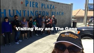 Huntington Beach Pier A Visit with Ray Comfort Scotty Allen