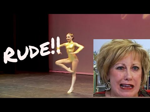 DANCE MOMS || Bond Girl ( But, Every Time Maddie Finishes Turning, Cathy Says Something Rude )