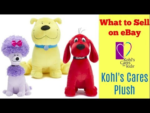 What To Sell On Ebay Kohl S Cares Plush And Stuffed Animals Youtube