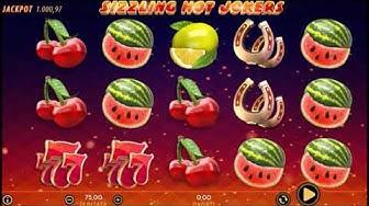 Slot Machine Sizzling Hot Jokers