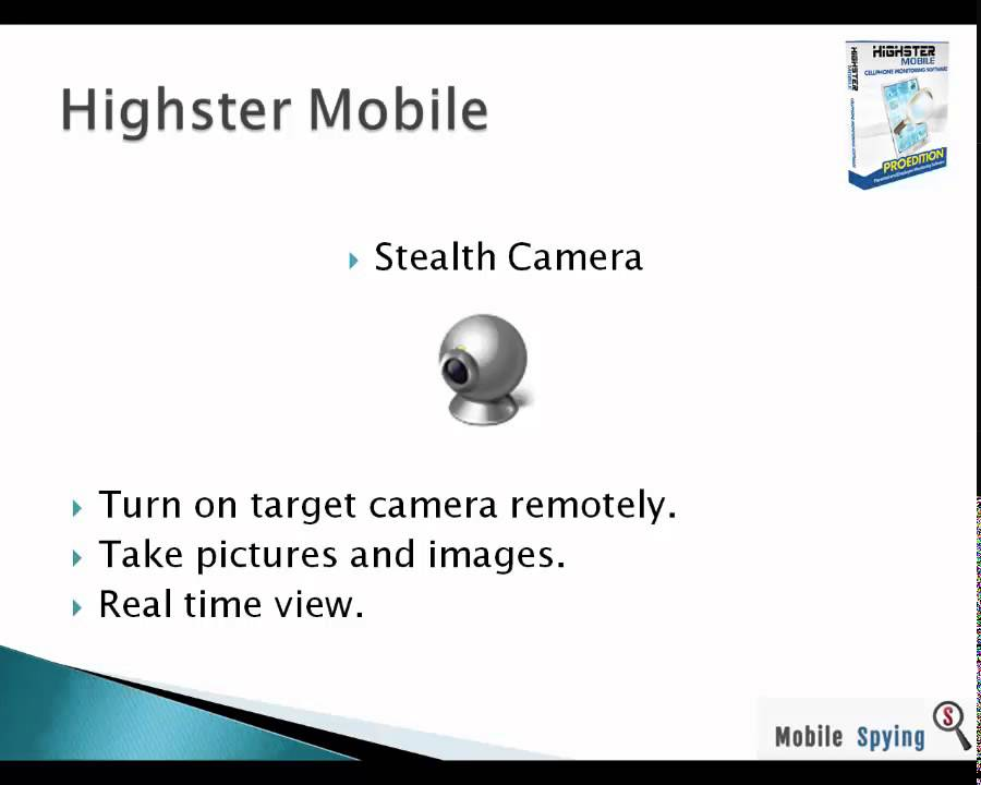 Top features: Hack cell phone camera