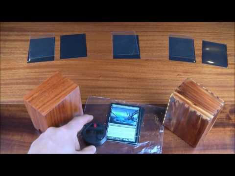 Aaron Cain Custom Deck Boxes - Humidity Torture Test 1