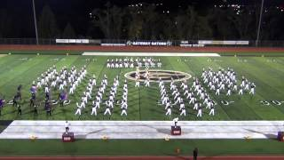 2012 IUP Marching Band 80s Show - 13 October 2012
