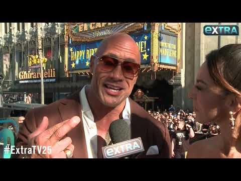 Dwayne 'The Rock' Johnson Gushes Over His 'Bad-Ass' Daughters