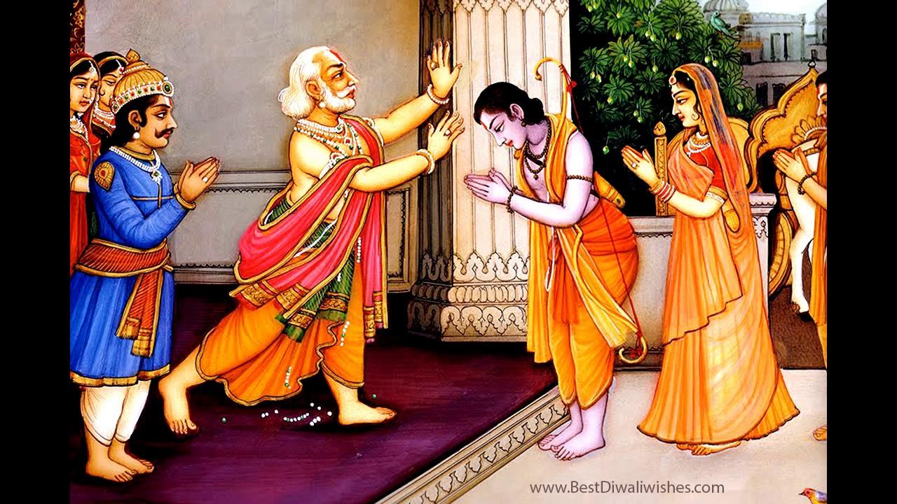 Lord Rama Return To Ayodhya Diwali 2017 Youtube