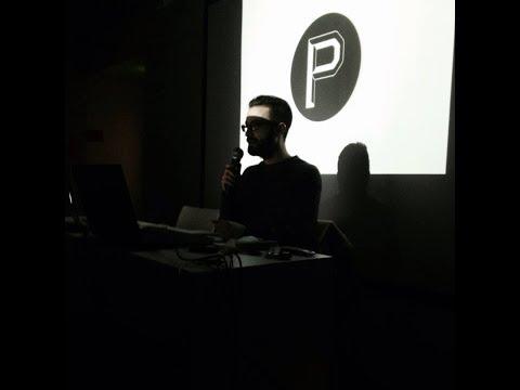 Conférence de Matthieu Salvaggio, studio de design graphique Prost à l'école d'art de Bellecour