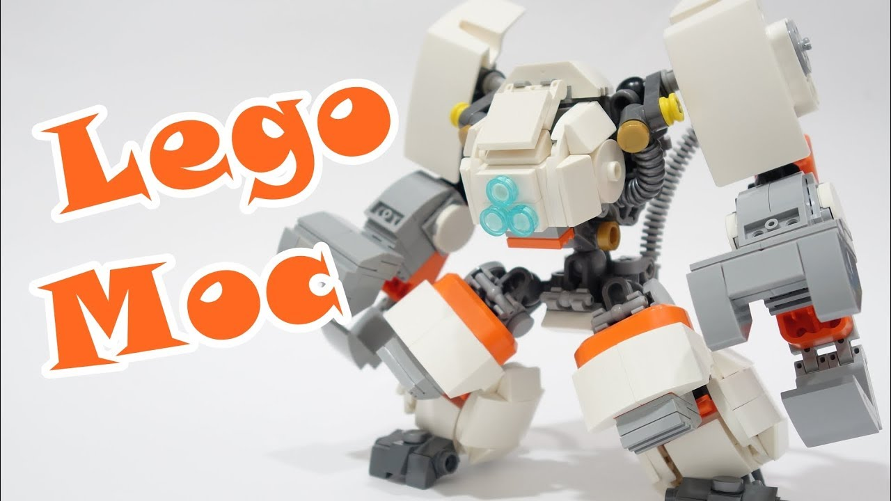 lego space construction mech moc youtube