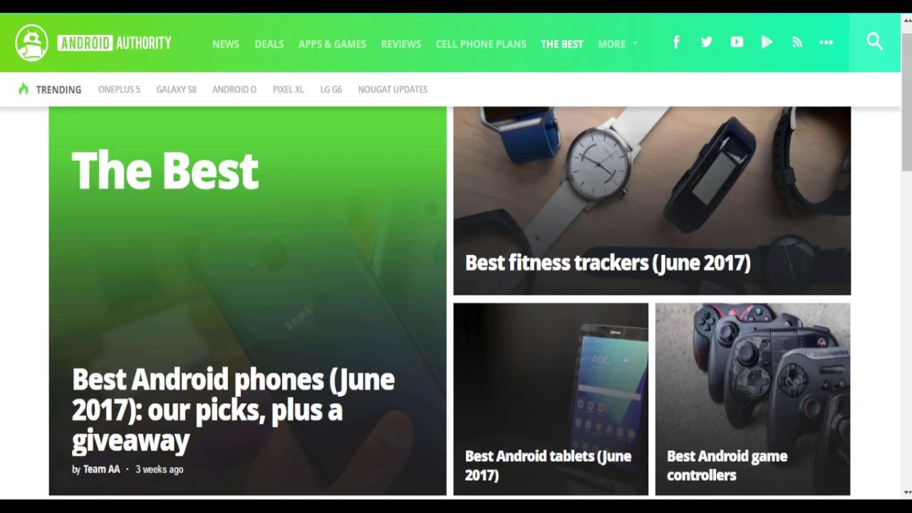 Top 5 Android Blogs/Websites of 2017