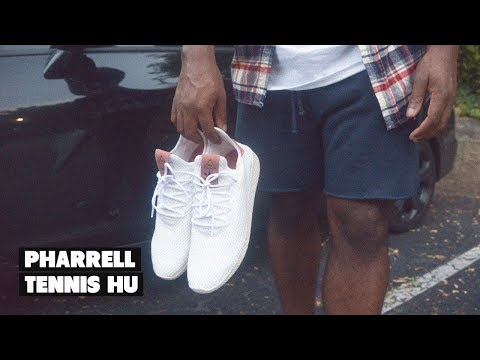 Why Not Be Different? | Pharrell Williams Tennis HU adidas Review + On Foot