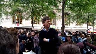 Jeffrey Sachs at Occupy Wall Street 10/15/11 - 1