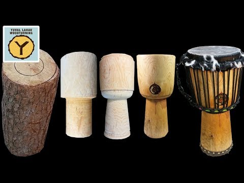 #50 Woodturning Djembe Dream Part 6