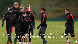 Six things noticed from Arsenal training ahead of Gunners
