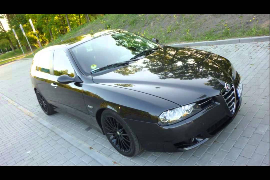 alfa romeo 156 2 0 sw distinctive tuning youtube. Black Bedroom Furniture Sets. Home Design Ideas