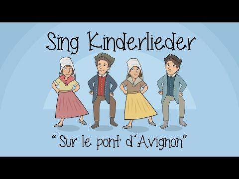 sur-le-pont-d'avignon-|-auf-der-brück'-von-avignon---kinderlieder-zum-mitsingen-|-sing-kinderlieder