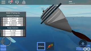 Sinking M/S Costa concordia & H.M.H.S Mauretania tiny-ships in roblox