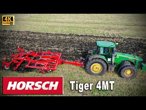 Комбинированный агрегат HORSCH Tiger MT новая замена плугу? Работа с трактором John Deere 8430