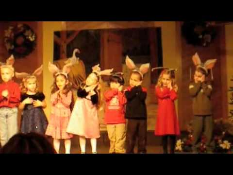 Joyful Noises Christian Preschool Christmas program - YouTube