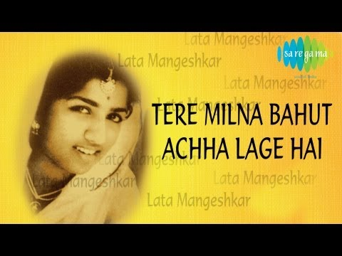 Tere Milna Bahut Achha Lage Hai   Ghazal Song   Mehndi Hasan   Lata Mangeshkar