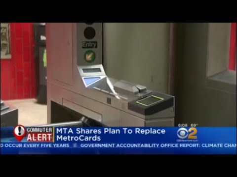 MTA Shares Plan To Replace MetroCards