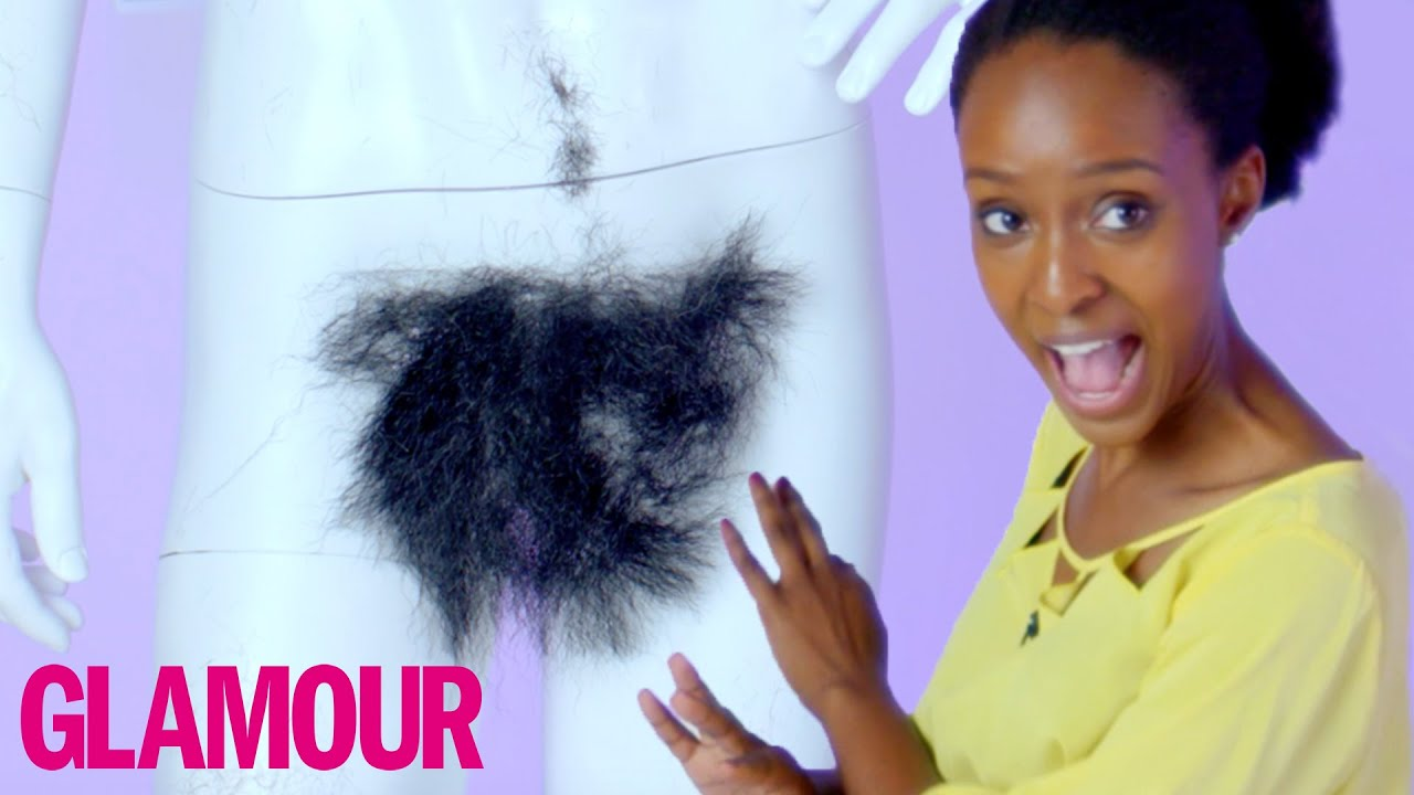 How Do Women Feel About Body Hair  Glamour - Youtube