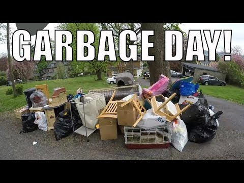 I CAN'T BELIEVE I FOUND THIS IN THE TRASH?! Garbage Day Picking!