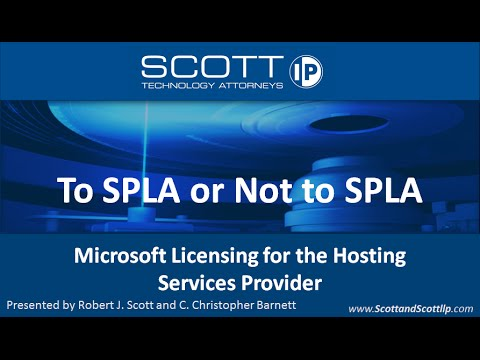 To SPLA or Not to SPLA?  Microsoft Licensing for the Hosting Services Provider