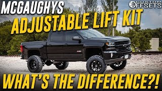 Video Mcgaughys Adjustable Lift Kit  - What's the Difference?! download MP3, 3GP, MP4, WEBM, AVI, FLV Agustus 2018