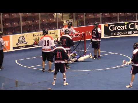 Oshawa Outlaws vs Six Nations Snipers Jan 7 2017