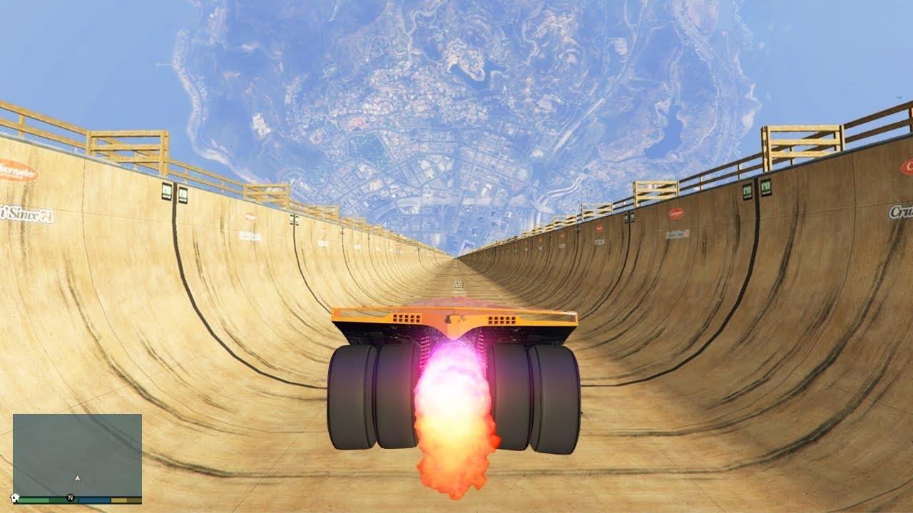 Безумный Спуск БЕЗ ТОРМОЗОВ в ГТА 5 Моды Игры Видео Обзор Мода Мир GTA Mods Эксперименты