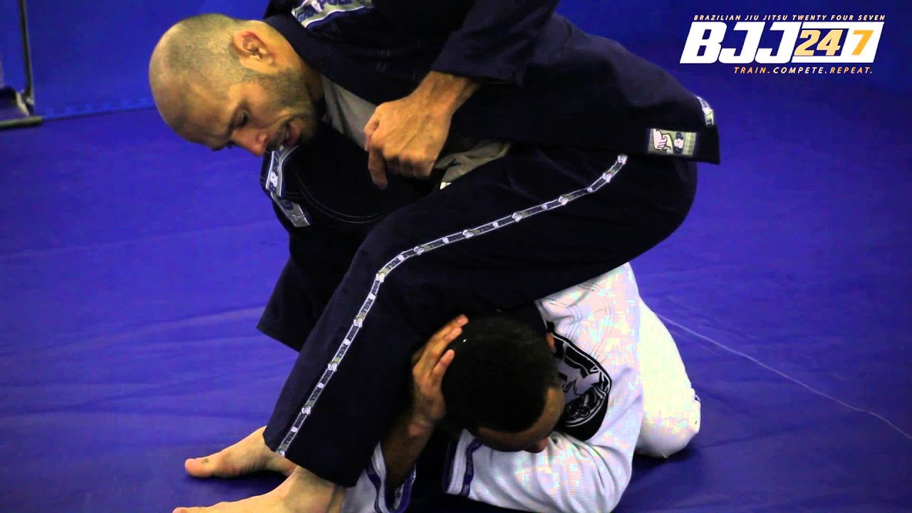 Cicero Costha First Ever UK - Seminar - Choke from Turtle Position 1 - www.bjj247.com