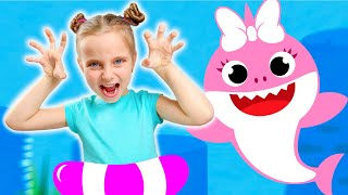 Underwater story for kids witch Fursiki show Baby shark song