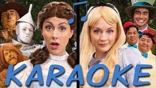 DOROTHY vs ALICE Karaoke (Princess Rap Battle) Instrumental Sing-along