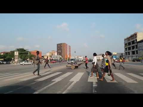 ABIDJAN EN PLEINE CIRCULATION- YOPOUGON - AEROPORT