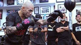 Miguel Cotto final ever media workout (Video: Golden Boy Promotions)
