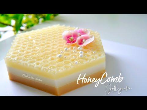Honeycomb Jelly Cake | 蜜蜂窝燕菜果冻蛋糕  #littleduckkitchen