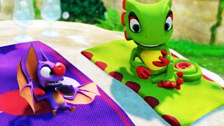 Yooka-Laylee Gameplay E3 2016 Trailer (Game Delayed Until 2017)