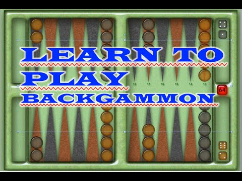 How To Play BACKGAMMON!     Super Easy!