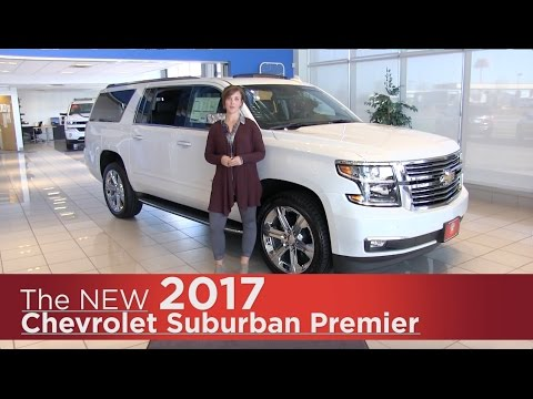 New 2017 Chevrolet Suburban Premier - Minneapolis, St Cloud, Monticello, Buffalo, Rogers, MN