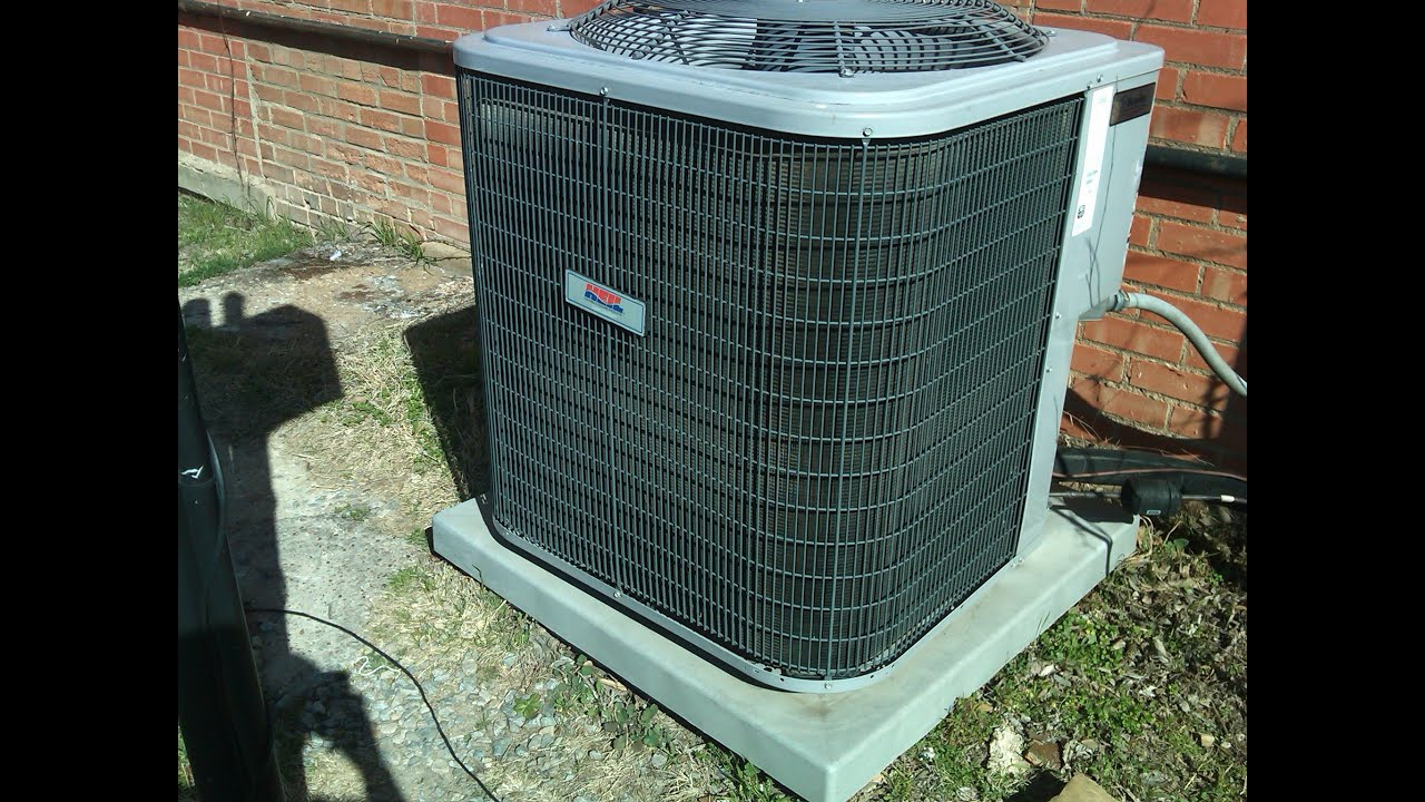 Heil Central Air conditioner manual