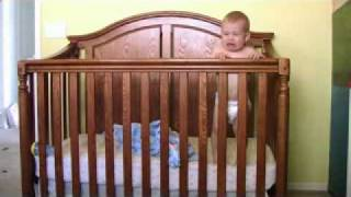 Hahahaha Baby Gets Out Of Crib