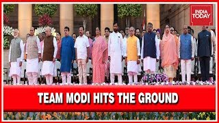 Team Modi Hits The Ground, Full List Of Cabinet In 2019