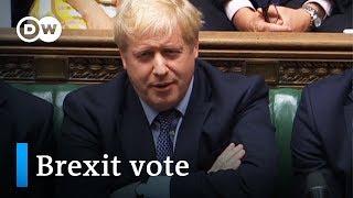 Vote on Brexit deal delayed, Boris Johnson defiant | DW News