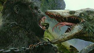 Конг Остров Черепа финальная битва   конг #кино #марвел #веном