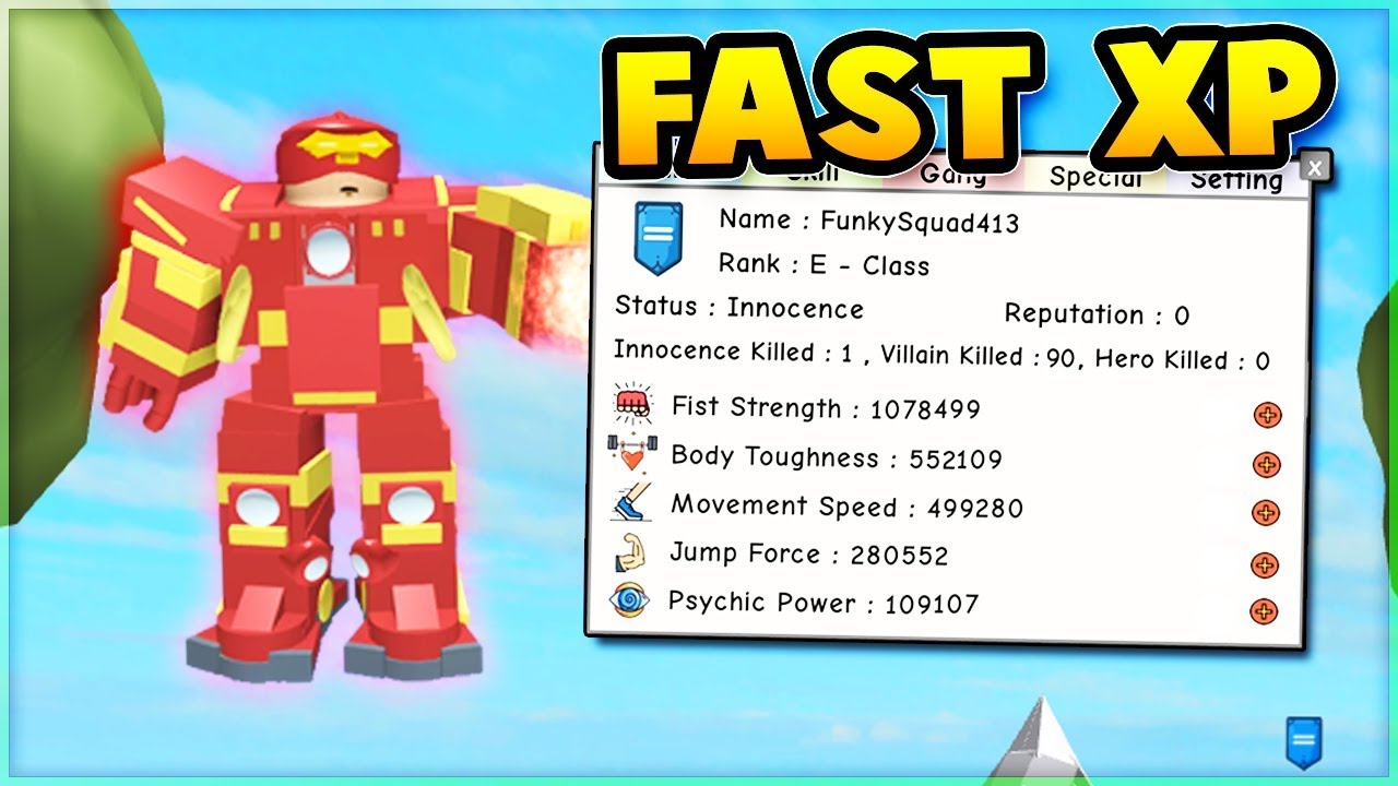 Super Power Training Simulator Ranks