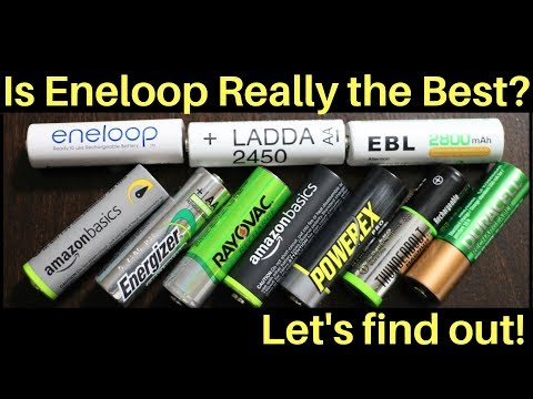 Which Rechargeable Battery Is The Best?  Let's Find Out!