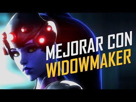 COMO MEJORAR CON WIDOWMAKER - GUIA (TRUCOS Y CONSEJOS) OVERWATCH GAMEPLAY ESPAÑOL | Winghaven