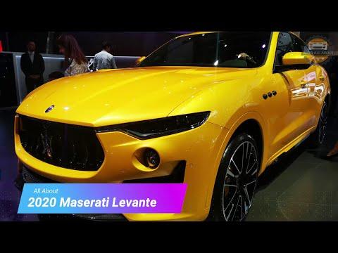 2020 Maserati Levante Trofeo walk-around review   Dubai Motor Show 2019