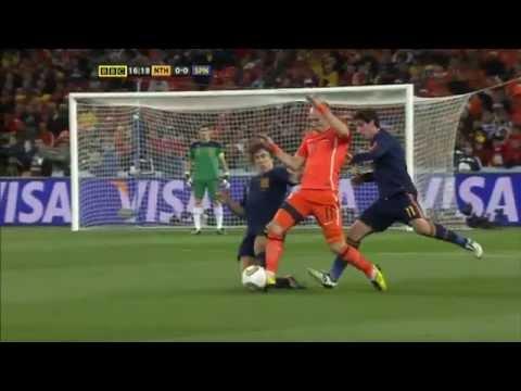 Holland vs Spain 2010 Wm Finals Highlights